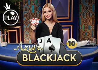 Blackjack 10 - Azure