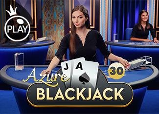 Live - Blackjack 30 - Azure