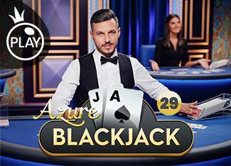 Live - Blackjack 29 - Azure