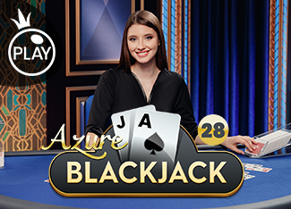 Live - Blackjack 28 - Azure