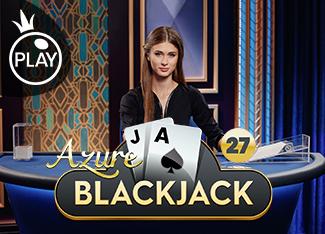 Live - Blackjack 27 - Azure