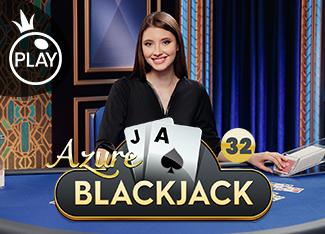 Live - Blackjack 32 - Azure